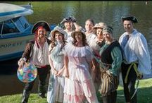 Pirates of Penzance on the Popeye / An Adelaide Fringe show - The Pirates of Penzance on a boat!