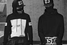 FASHION✌ / Asian fashion , street style , Brands style, Black&White , Urban...