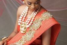African Wedding Inspiration - Bridal Inspiration Board / An African bridal inspiration board curating bridal inspiration makeup, bridal inspiration hair, natural hair bridal inspiration, bridal natural hairstyles, bridal accessories and more!