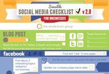 Social media / Infografika, przydatne informacje nt. mediów społecznościowych. Facebook, LinkedIn, Pinterest, Twitter i wiele innych