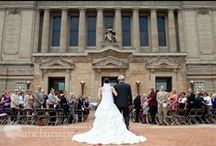 Wedding Ceremonies / Wedding ceremony photographs, videos and ideas. Considering hosting your wedding ceremony and reception at Soldiers & Sailors Memorial Hall & Museum in Pittsburgh, PA!