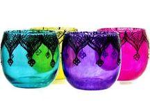 Candle Holder /  Web:www.nkglass.com ; Skype:jkingsales3; E-mail: jkinger3@qq.com; Tel: 86-533-6143377; / by Glassware & Ceramic ware