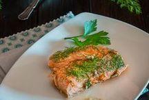 """Pescados y mariscos """"Olivas en la cocina"""" / Recetas hechas con todo tipo de pescados y mariscos"""