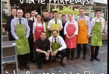 V'la le Printemlps - Brasserie Le Flore / Le Printemps arrive au Flore du 28 mars 2014 au 27 avril 2014