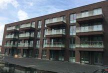 Rijnsburg, Westerhaghe / Nieuwbouw, verankering van balkons, luifels en galerijen