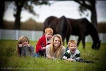 Horse farm portraits