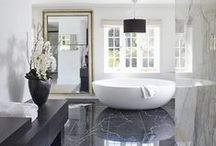 Dream Bathrooms / For a lot of people, the bathroom is a place you begin and end the day - why not take some extra care and make it a place that relaxes you? Dream big!