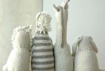 A Knitted Wonderland / Great knit and crochet ideas for nursery and baby