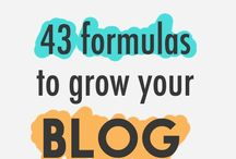 Blog info / Ideas to help increase blog traffic and followers