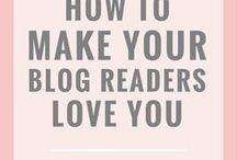 BLOG TIPS / Blog tips and tricks.