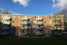 Geleen, Eberhardstraat / Renovatie, vervangen van 80 afgekeurde balkons door stalen balkons met een composiet balkonafwerking