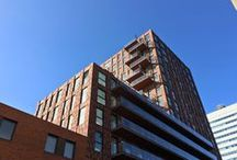 Utrecht, De Verkenner / Nieuwbouw, verankering van balkons en galerijen