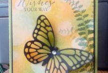 Stampin Up Butterfly Framelits