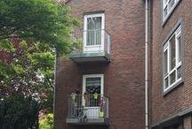 Geleen, Oranjelaan / Vervangen van 12 afgekeurde balkons door stalen balkons met een composiet balkonafwerking
