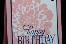 Stamping Up Definately Dahlia