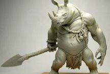 sculpt clay