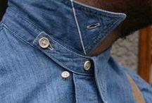 details of shirt, collars