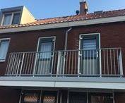Heemskerk, Muziekbuurt Handelstraat / Isoleren van uitkragende beton-balkons met Normteq sLide