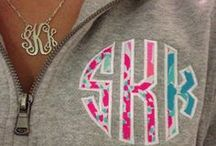 Monograms and Obsessions