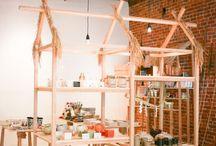 Retail inspiration and visual merchandising ideas.