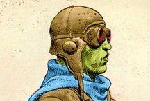 Moebius Trip / Dedicated to the late, great comic artist Jean Giraud aka Gir aka Moebius. Moebius