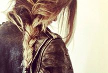 .HAIR .AND .MAKE-UP / I'm a girl with long hair. / by Basic Goods