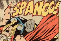 SPANGG! / Cool comic pages or panels!