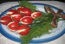Recipes: Garnishes/Food Presentation/Platters