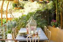 Summer Patio Design Ideas / I love out door patio ideas here are some I have found