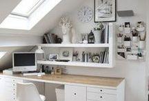 Workspaces / Office decor