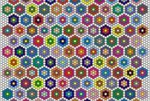 Hexagon Crazy Love / Everything Hexagon, Hexie, Hexes, Honeycomb, Sixies