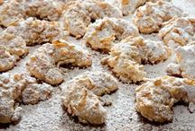 Almond Cookies and Bars / ALMOND COOKIES and BARS