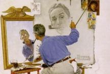 The Art of Norman Rockwell / Drawings, Sketches and Illustrations by the great Norman Rockwell