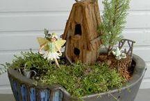 Fairy Garden / Build your own fairy garden DIY