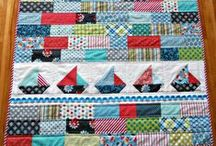 Sailboat Quilts / Beautiful Finished Sailboat Quilts