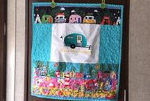 Little Camper Sewing and Embroidery, Crochet, Quilting Projects / Tiny Camper Crafts, Sewing, Quilting, Embroidery and Crochet Projects and More to make or buy for your tiny trailer.