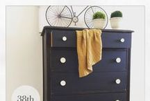 Furniture Makeovers, Builds and Inspiration