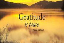 Thanksgiving/Gratitude Quotes