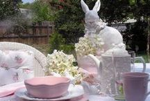 Easter: Centerpieces/Tablescapes