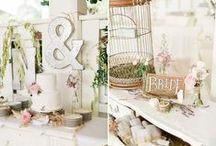 WEDDING - CAKES - dessert table - buffet / by Joana Abreu