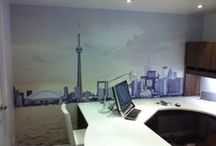 Custom Murals for Office Spaces