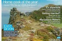 Magazine Covers / The stunning Devon Life magazine covers