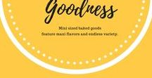 Mini - Bites of Goodness / Mini sized baked goods feature maxi flavors and endless variety.