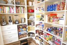 An Organized Pantry! Ideal Food Storage / No, not as in survivalist mode.  As in organizing the food pantry!