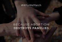 #WhyWeMarch / Every year, we march for life. We join thousands of people on the National Mall in Washington, DC to be voices for the voiceless and to take a stand for life.   Why do you march?