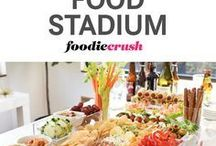 The Supper Bowl Menu / Favorite game day food...everything from nibblers to portable main meal.