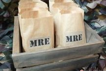 Homestyle MREs / With Veteran's Day just around the corner, I thought it would be fun to explore the world of Meals Ready To Eat.  If you had favorites in the field, you'll might like the homestyle versions!  Recipes & Menus. What's your favorite MRE?