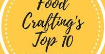 Top 10 Popular Recipes / The list changes on a regular basis but these posts rank as the top 10 articles and recipes on the Food Crafting blog!  Check out the top content and most popular recipes.