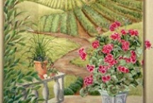 Murals for the Home/Murals for the Office / Murals for the home; bedroom, laundry room, dining room, kitchen, living room, wine cellar, mud room and more. How fun to have a one-of-a-kind mural.