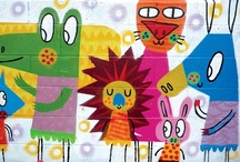 art for kids / This is some of my artwork for kids, murals, childrens books, illustration and sculpture.